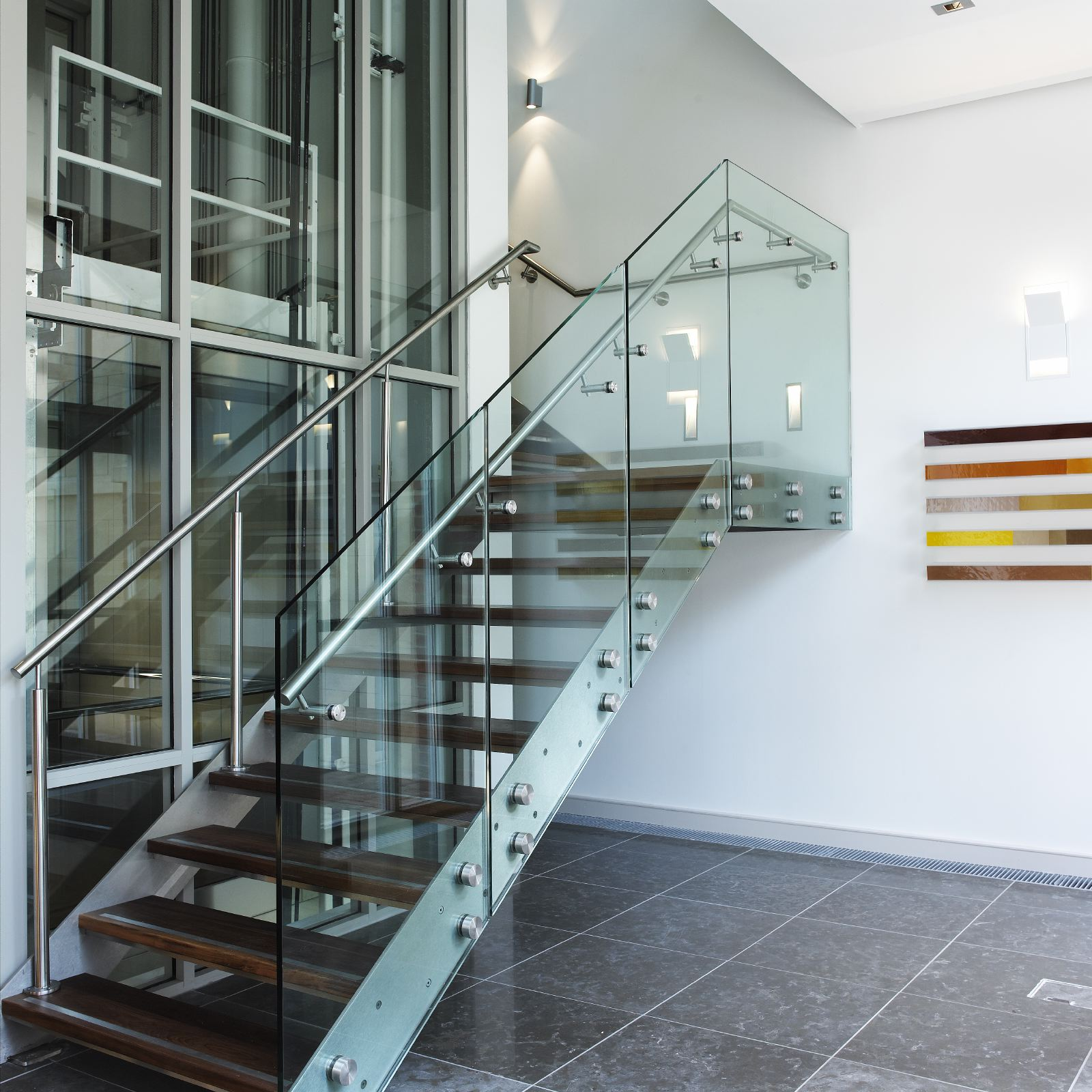 22 Modern Innovative Staircase Ideas: Stairs And Balustarde Railings